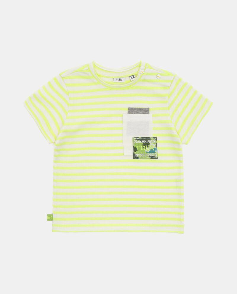 T-shirt con motivo a righe neonato cover