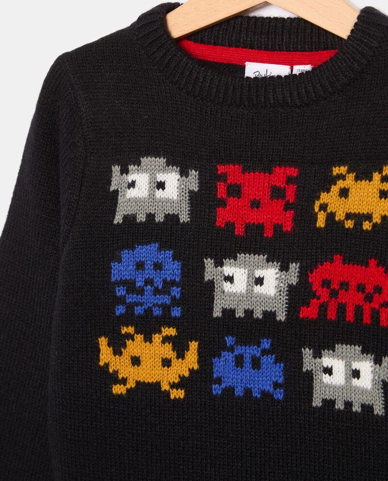 Girocollo tricot in misto lana bambino single tile 1