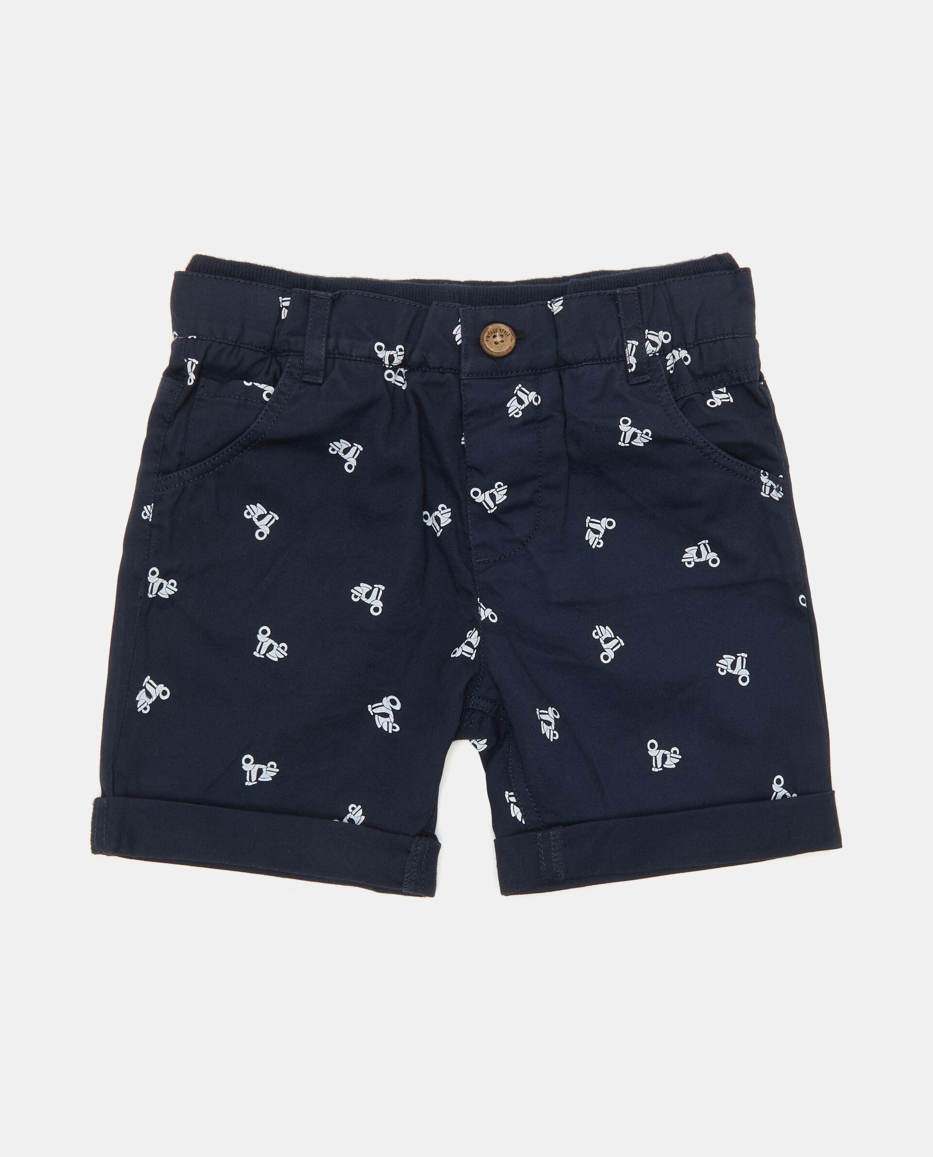 Shorts neonato in puro cotone biologico