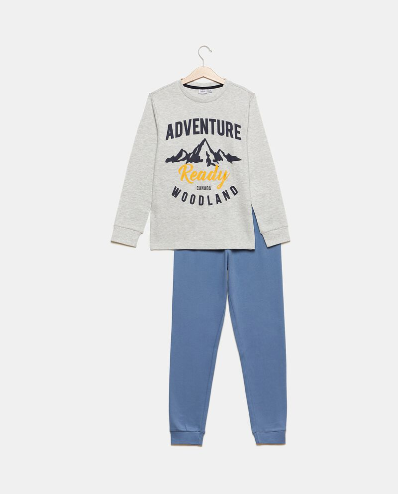 Set pigiama con pantaloni e maglia cover