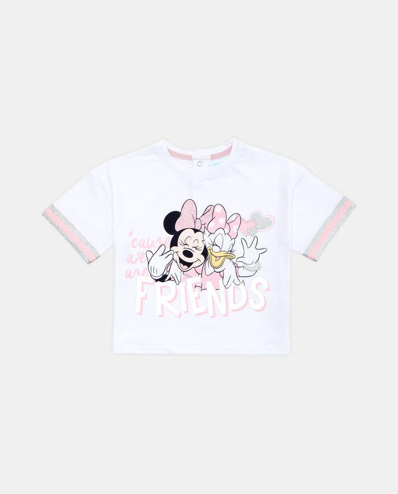 T-shirt cropped neonata