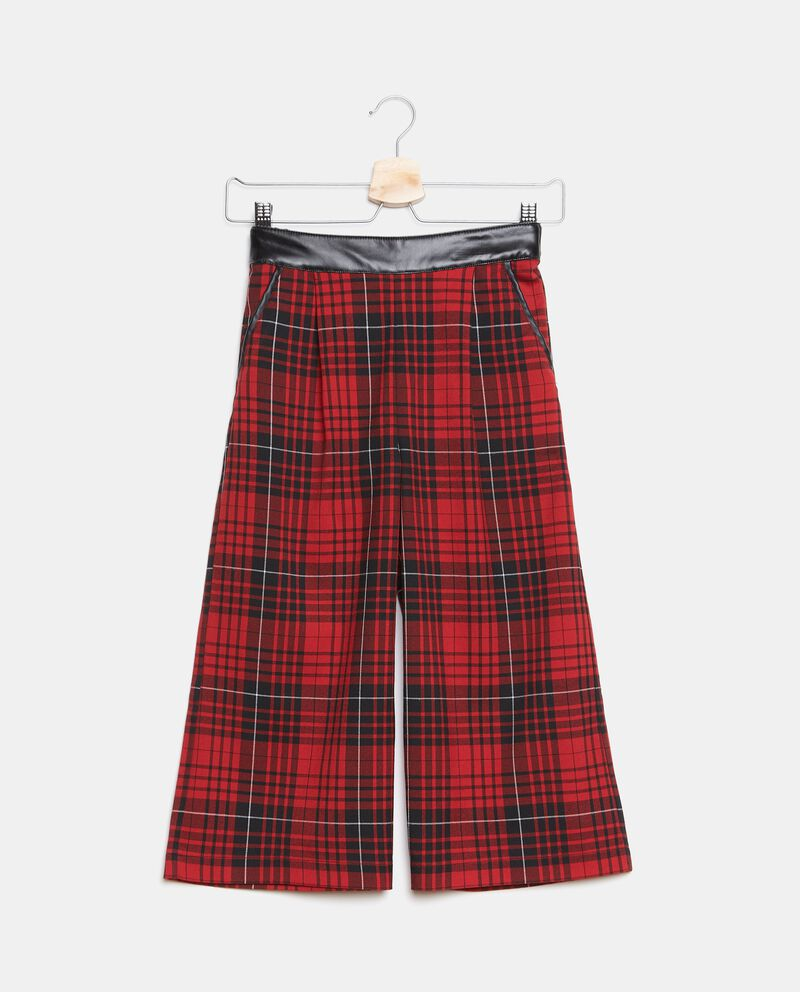 Pantaloni tartan ragazza