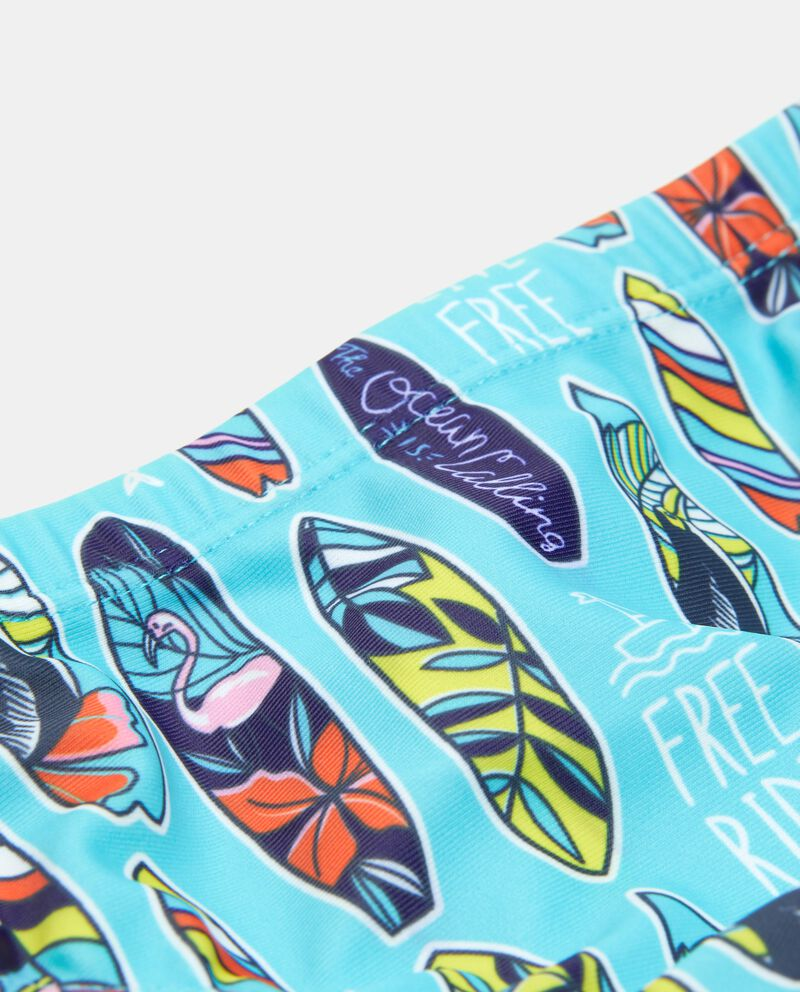 Costume slip con fantasia tavole da surf