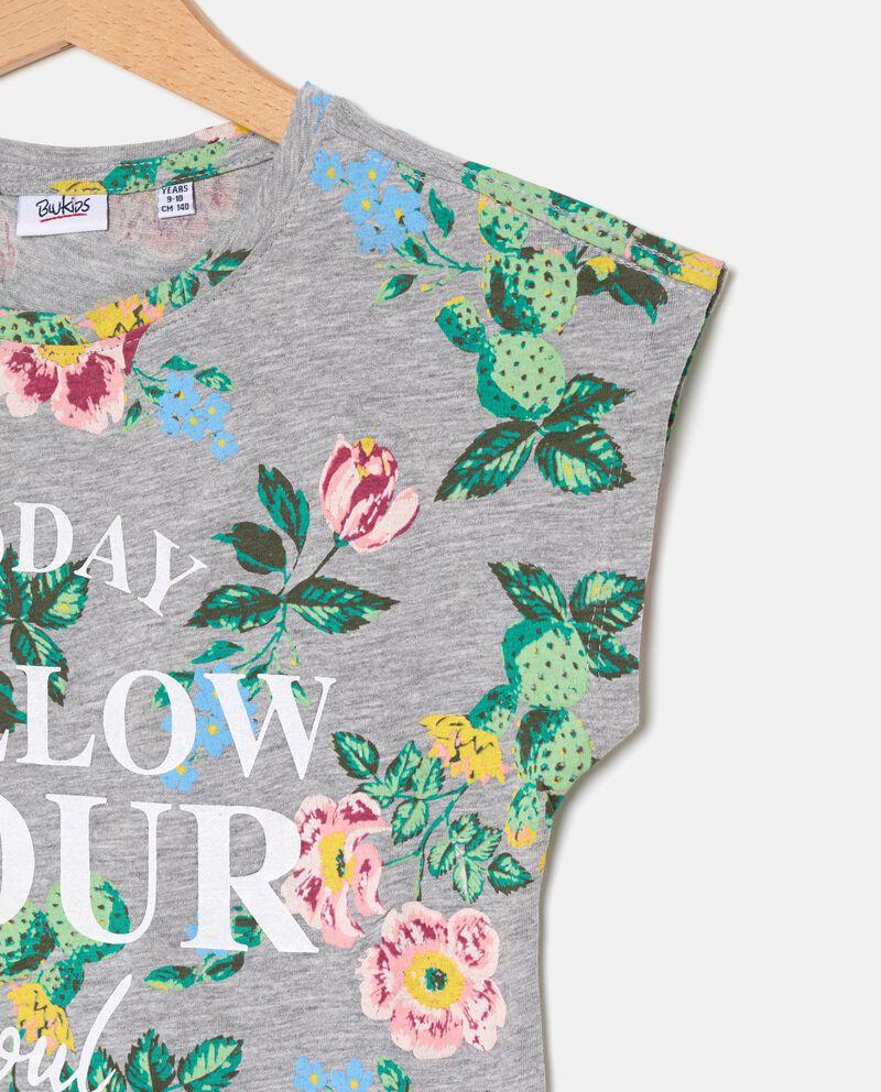 T-shirt con fiocco ragazza single tile 1
