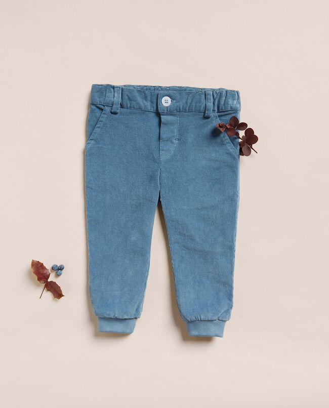 Pantaloni in velluto a coste neonato IANA Made in Italy carousel 0