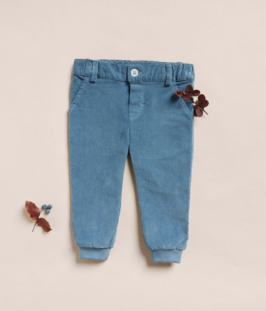 Pantaloni in velluto a coste neonato IANA Made in Italy double 1