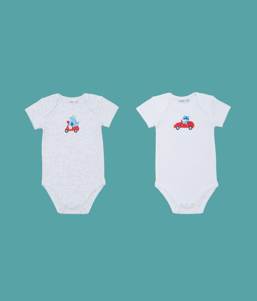 Set body con disegno neonato