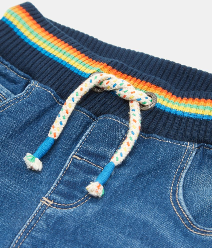 Pantaloni jeans neonato double 2