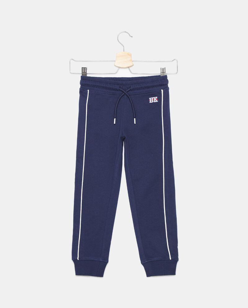 Pantaloni di cotone organico con inserti bambino cover