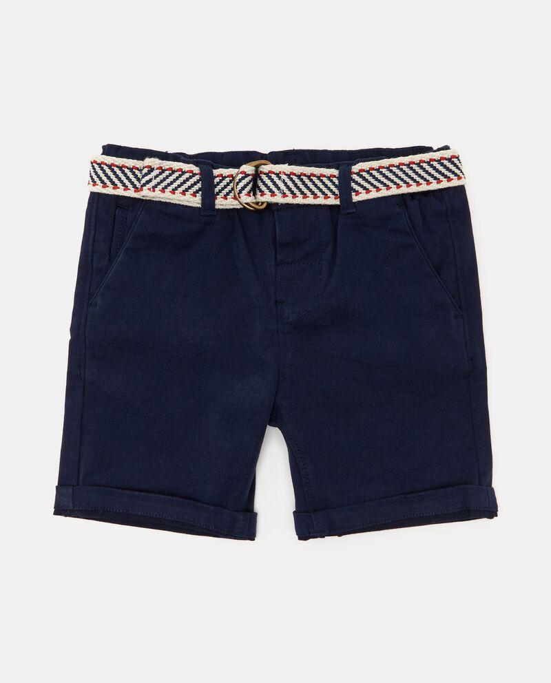 Shorts chino in cotone organico neonato