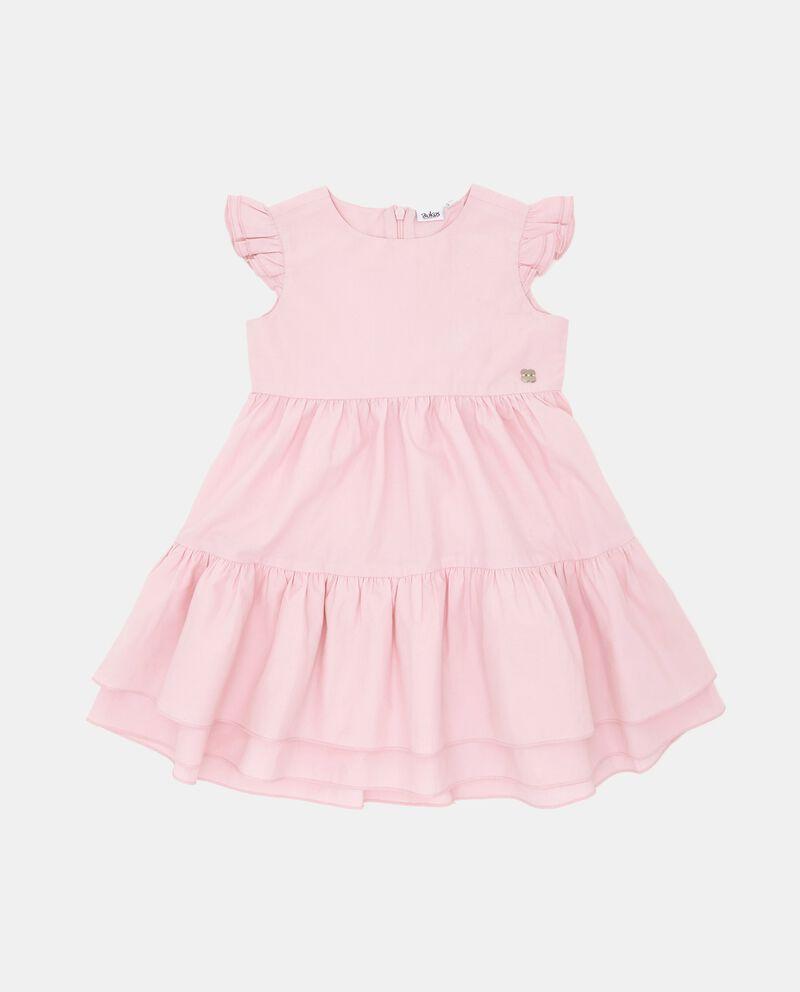 Vestito a balze in popeline neonata cover