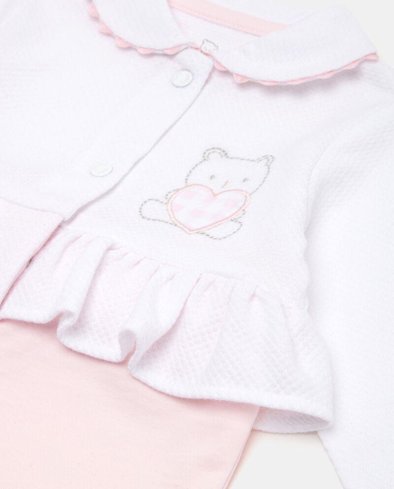 Tutina in puro cotone neonata