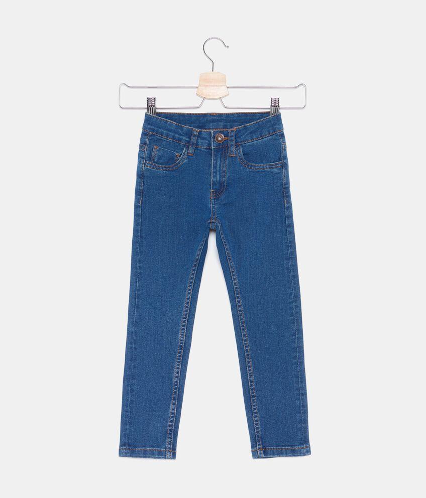 Jeans cinque tasche bambino double 1