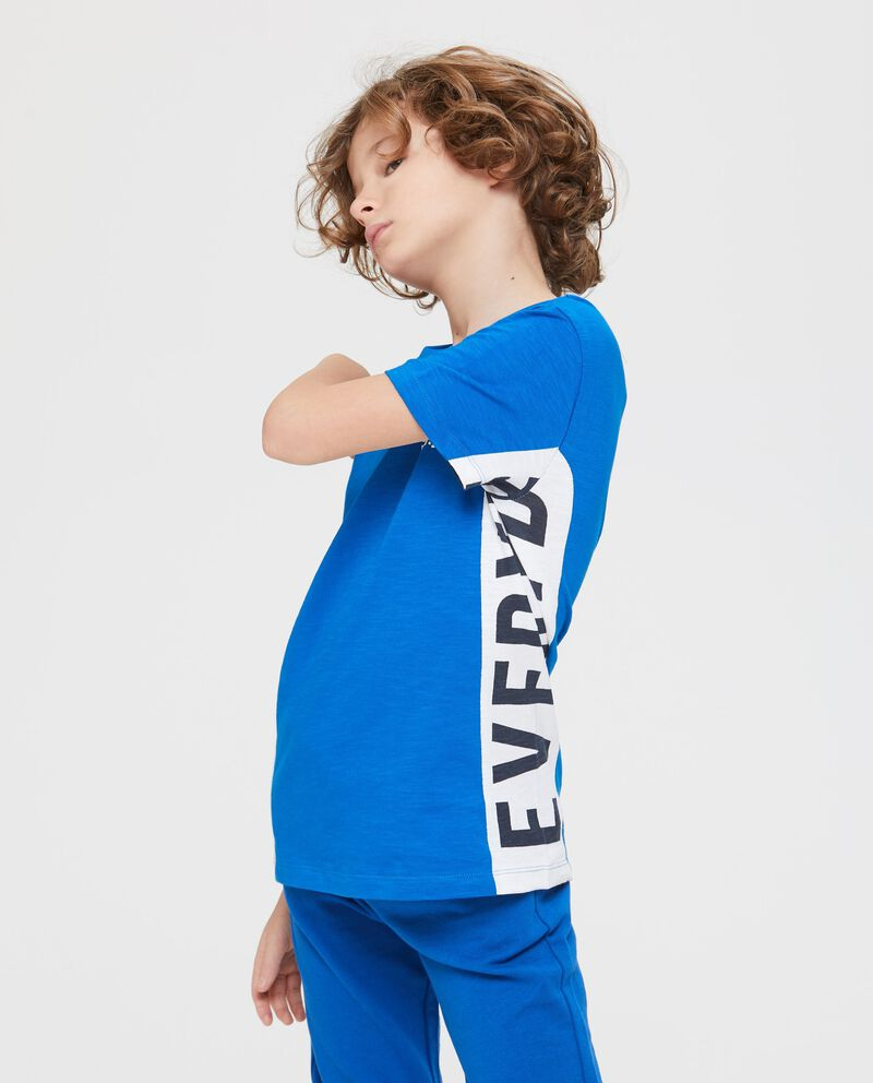 T-Shirt maniche corte stampa laterale