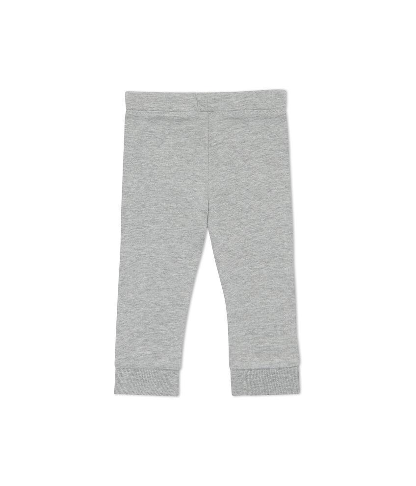 Pantaloni mélange bade a contrasto