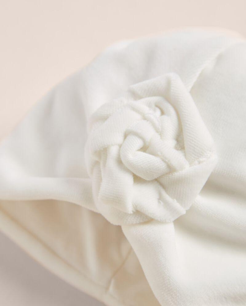 Cappellino in ciniglia soft touch IANA Made in Italy single tile 1