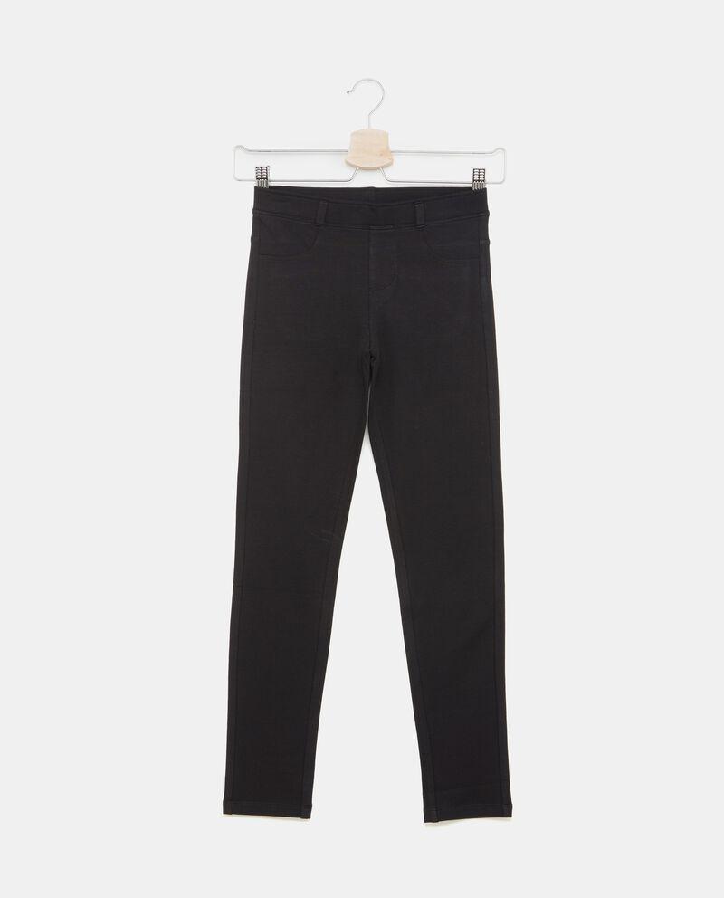 Pantaloni ragazza effetto jeans