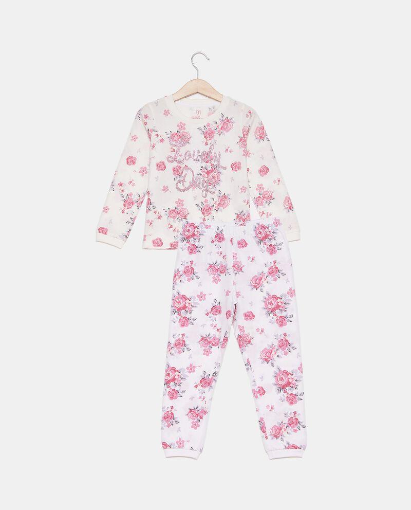 Set pigiama in fantasia di puro cotone bambina