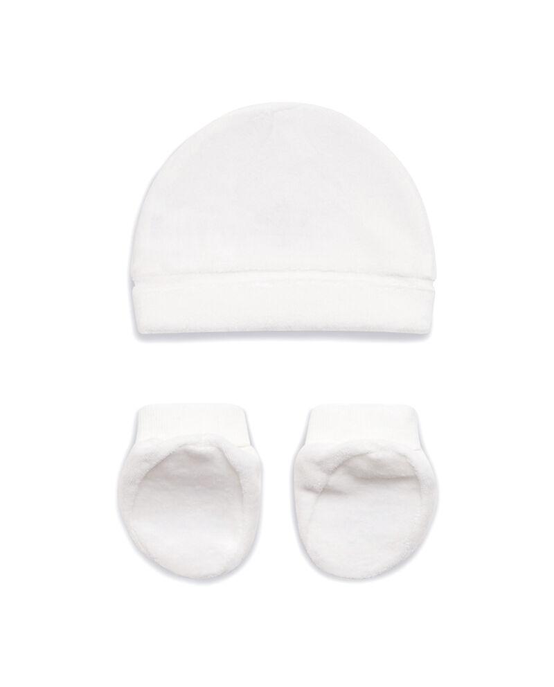 Completo cappellino scarpine nuvoletta