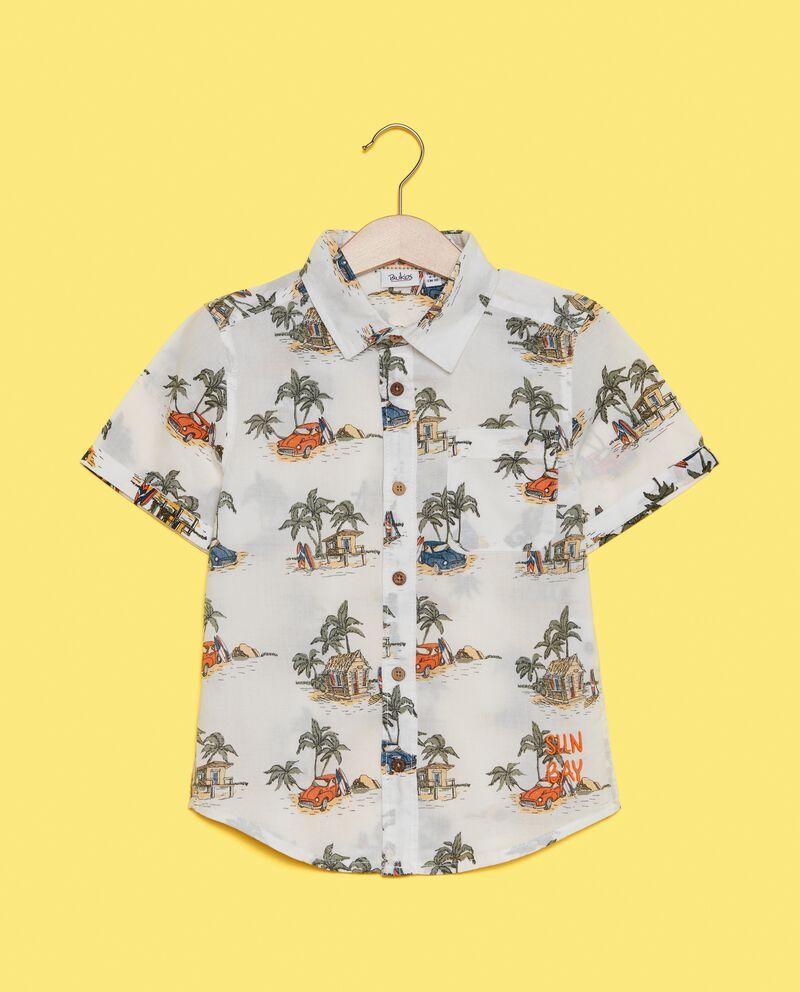 Camicia in puro cotone bambino