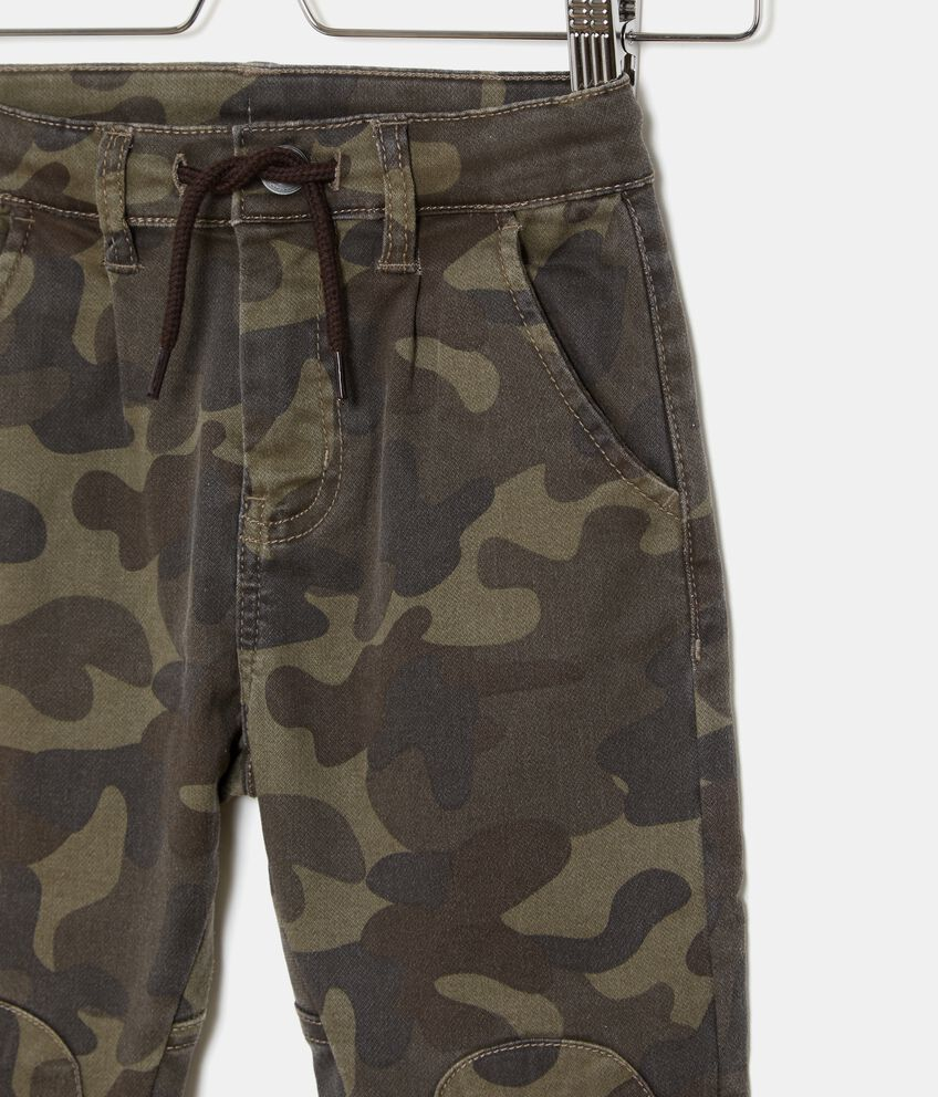 Pantaloni fantasia militare bambino