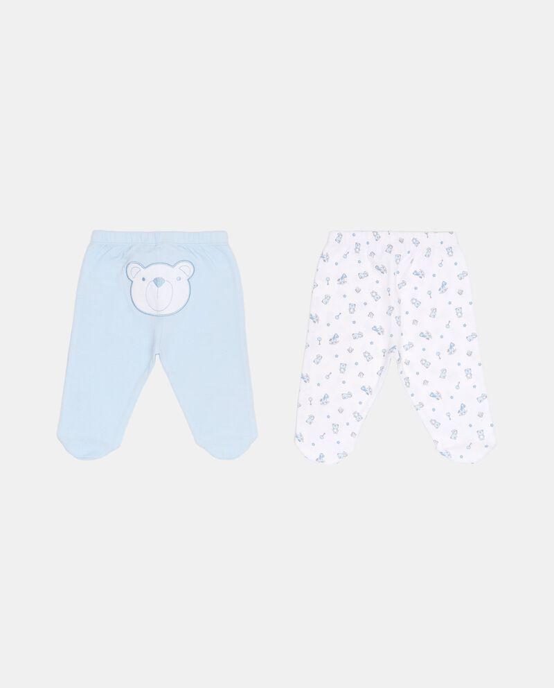 Set due pantaloni fantasia animaletti
