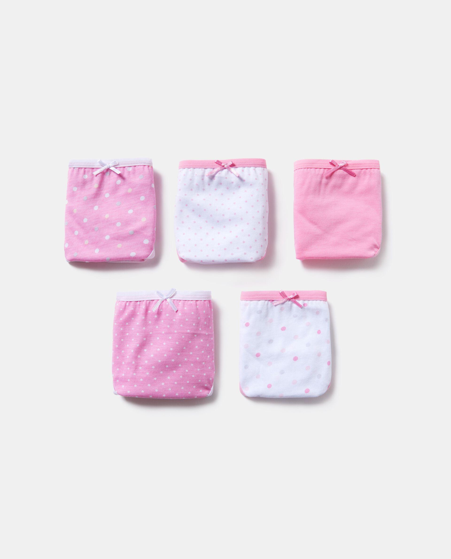 Set slip con fascia elastica a contrasto puro cotone