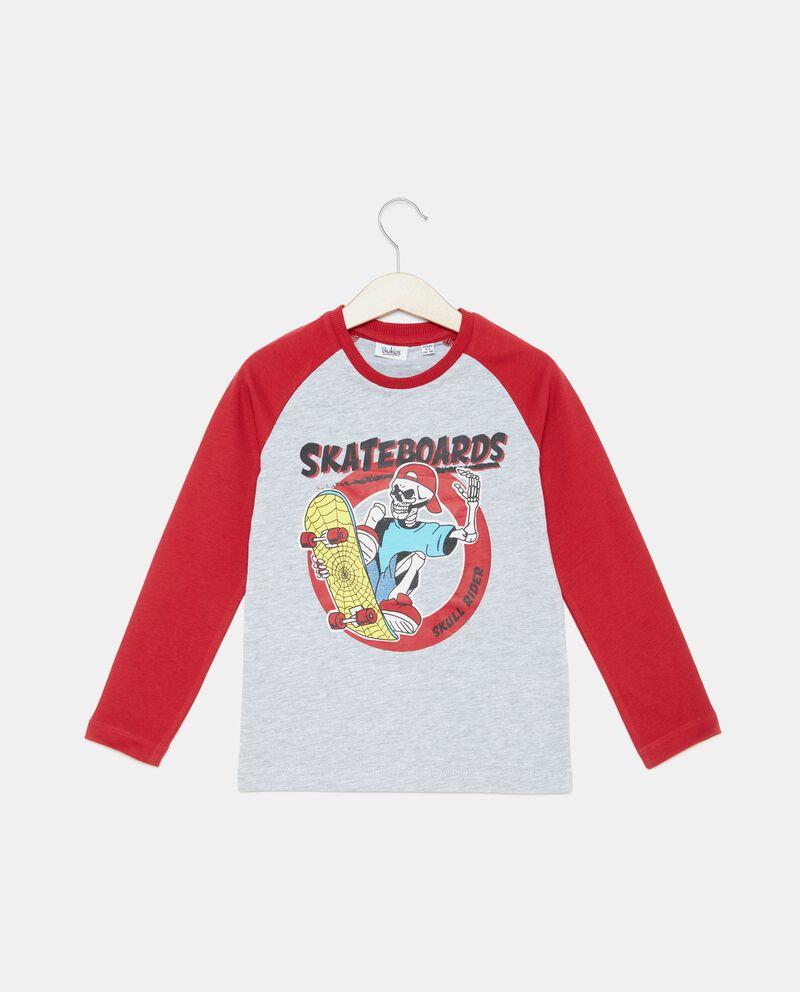 T-shirt con maniche a contrasto bambino