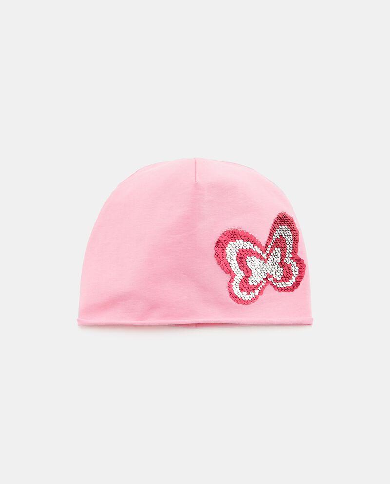 Cappellino con paillettes
