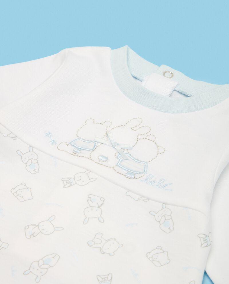 Tutina in puro cotone neonato coniglietti