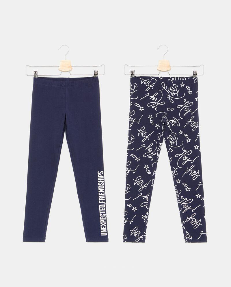 Set con due leggings