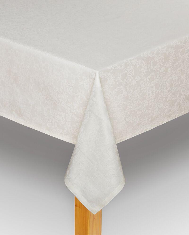 Tovaglia in cotone lavorato jacquard