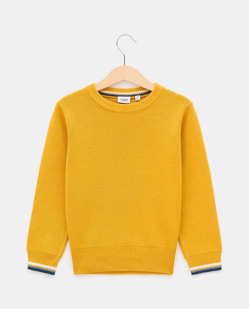 Girocollo di tricot di cotone bambino cover