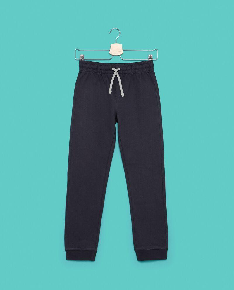 Pantaloni della tuta tinta unita