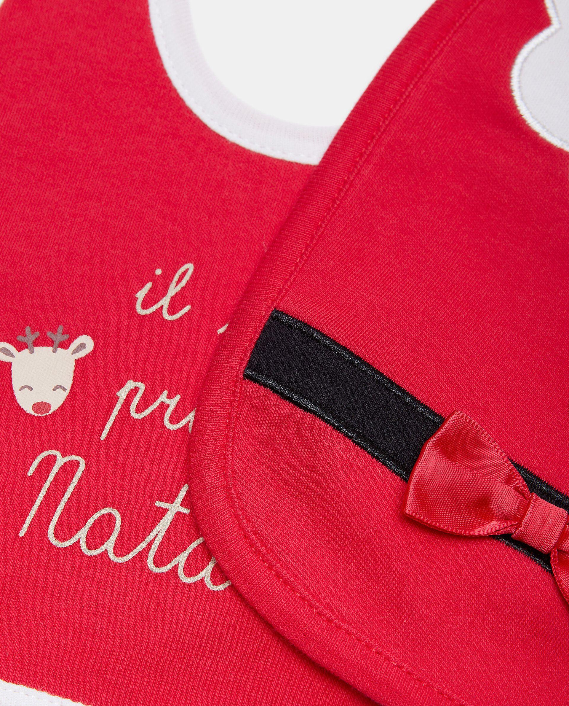 Bipack bavaglini natalizi in puro cotone