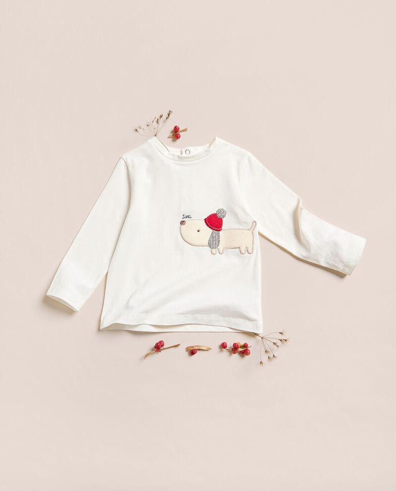 Maglietta in caldo jersey stretch di cotone IANA Made in Italy cover