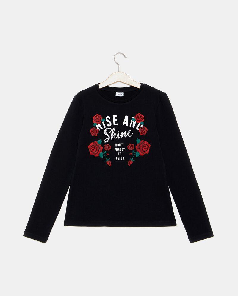 T-shirt rose ragazza