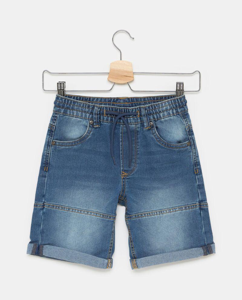 Jeans con cordoncino in vita bambino