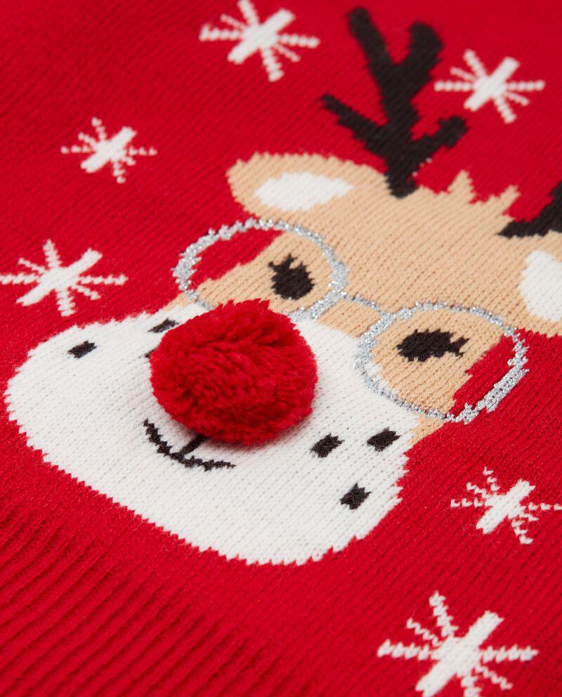 Maglioncino natalizio neonata