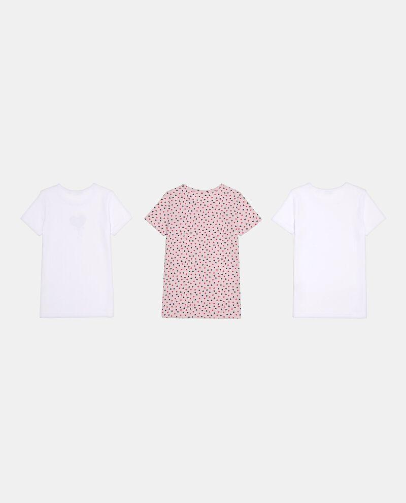 Set tre t-shirt intime scollo rotondo