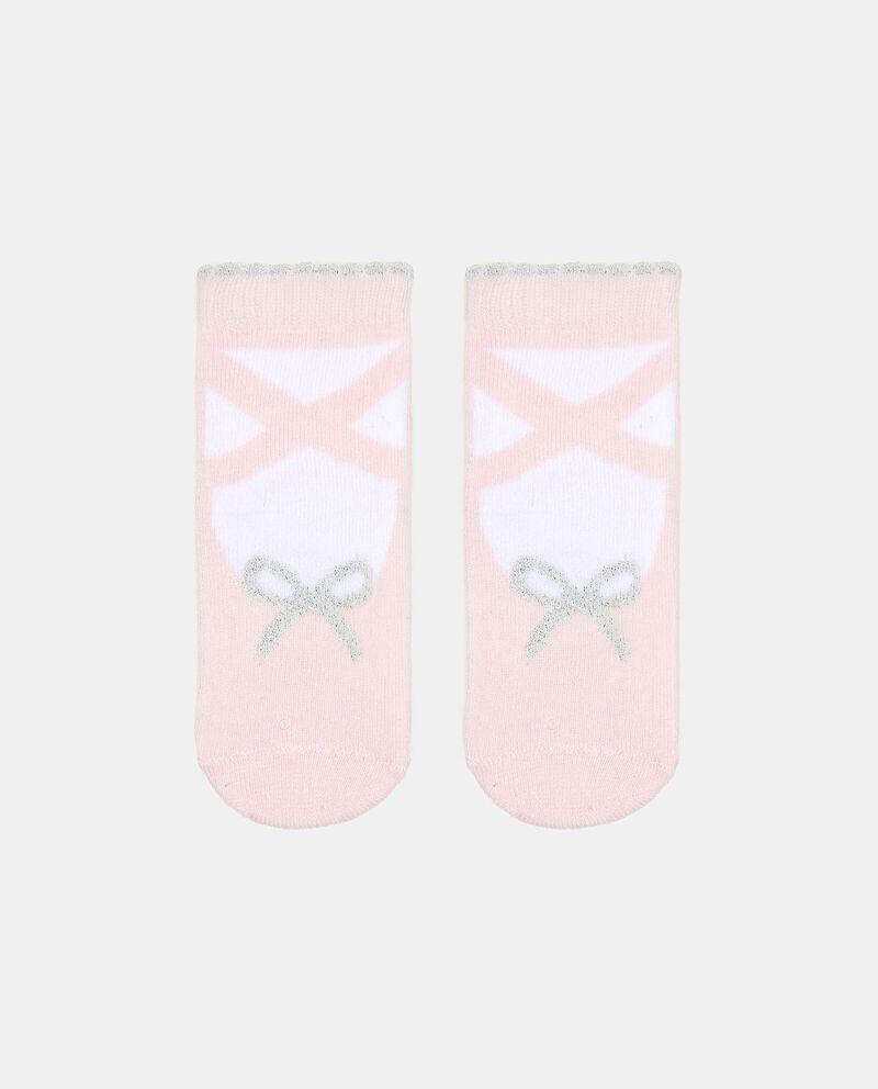 Calzini in cotone elasticato con stampa neonata cover