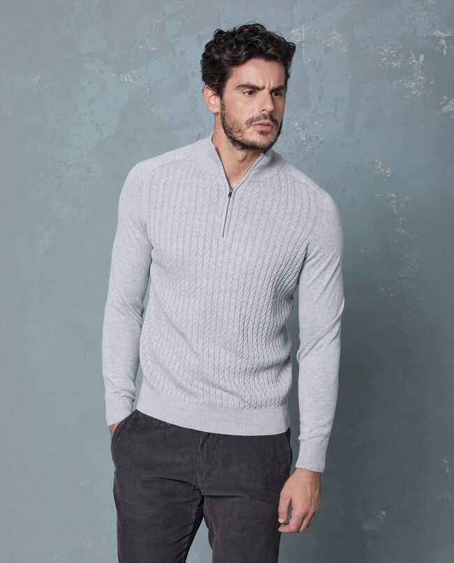 Pullover righine uomo
