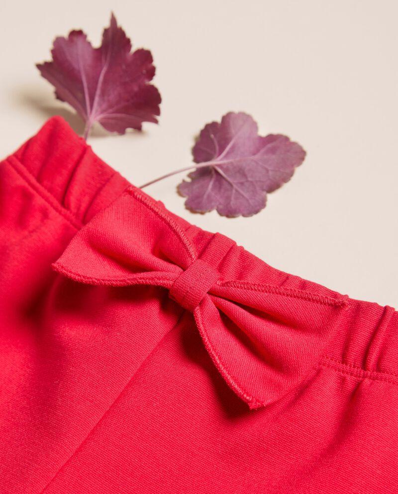 Pantaloni punto milano tinta unita IANA Made in Italy single tile 1