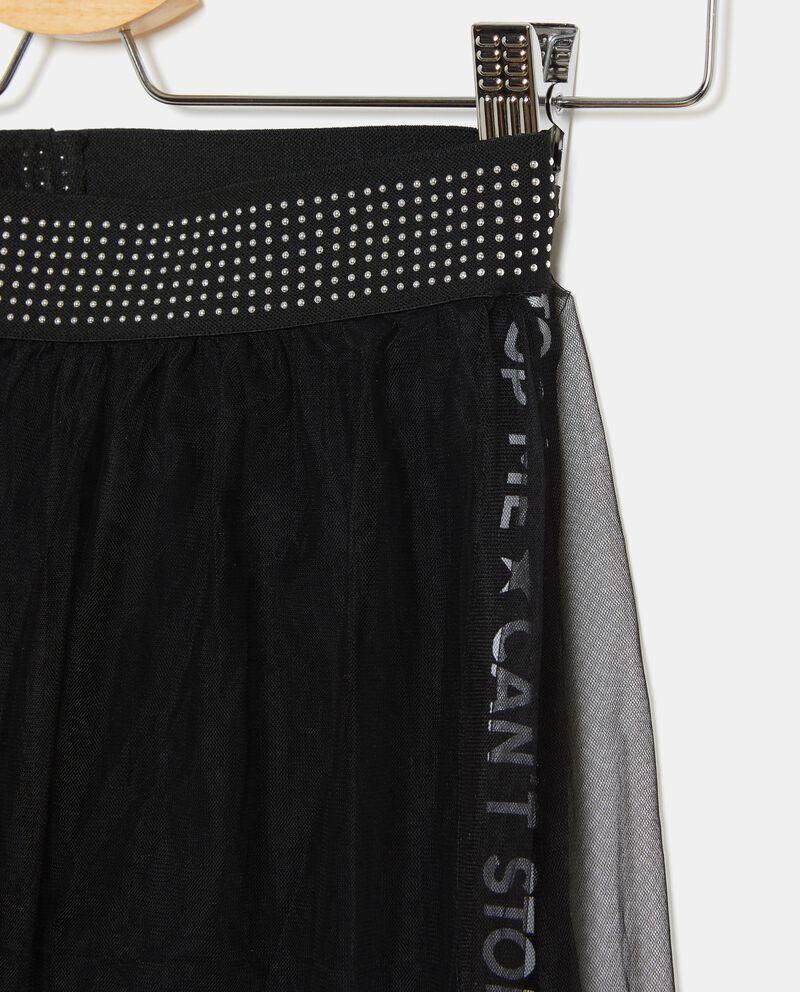 Pantaloni con tulle ragazza