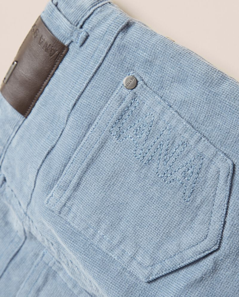 Pantaloni in velluto a costine IANA single tile 1