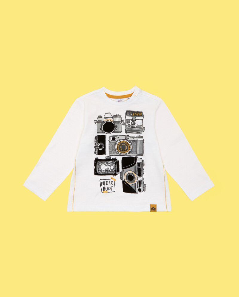 T-shirt puro cotone neonato