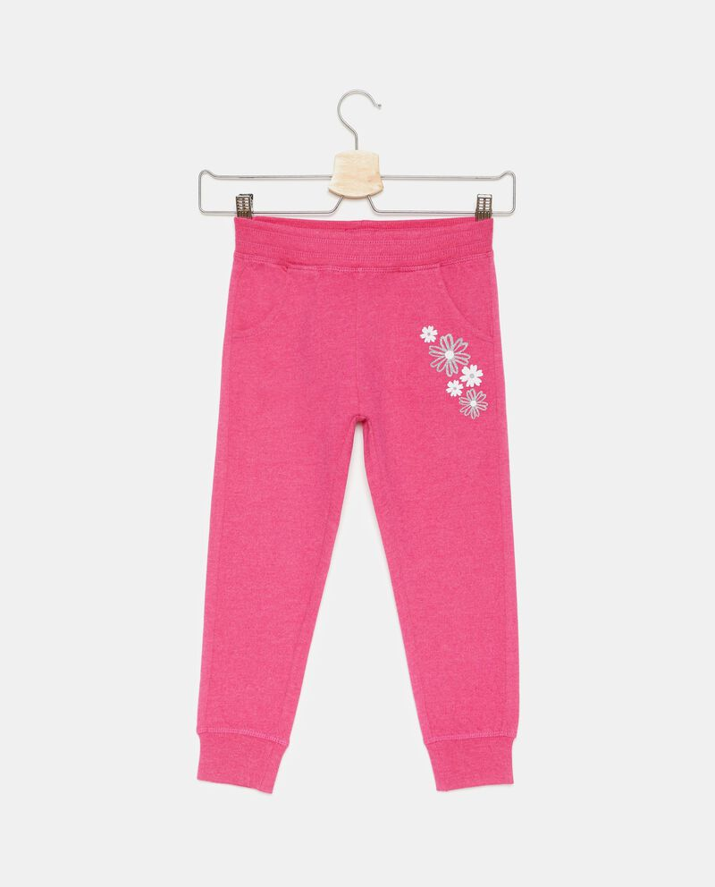 Pantaloni vita elasticata con stampa