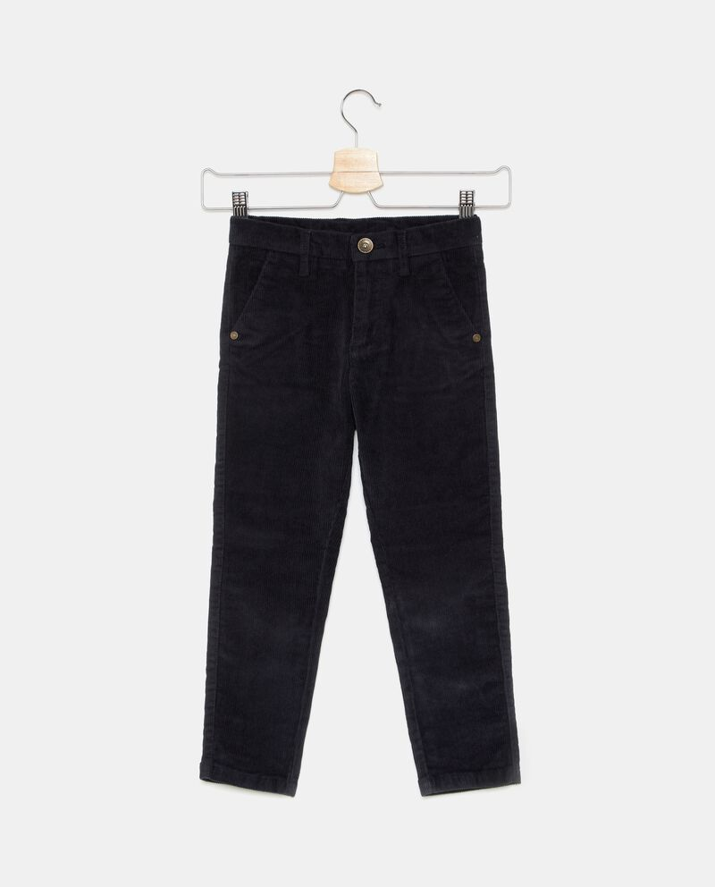Pantaloni a righine bambino