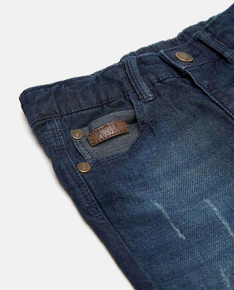 Jeans effetto ruined neonato