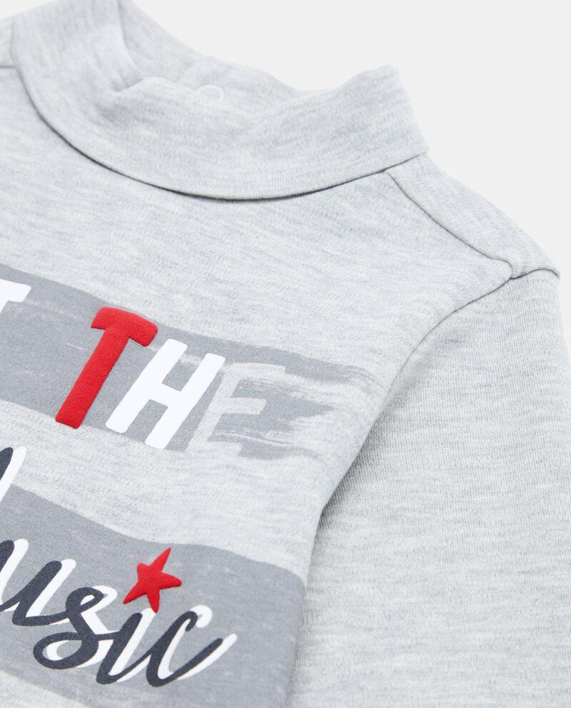 Maglietta collo alto neonato